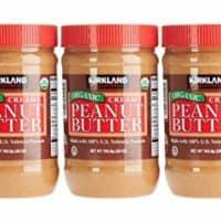 Organic Creamy Peanut Butter 3 - 28 Oz Jars