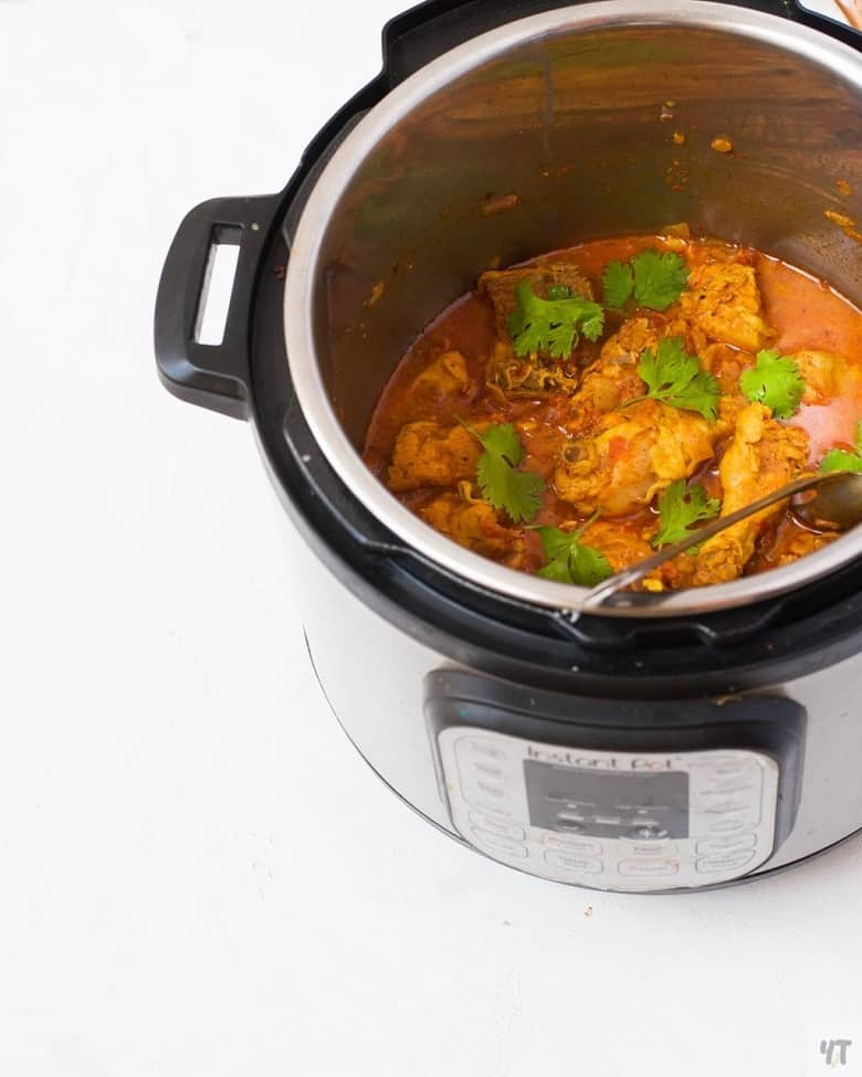 Instant pot curry chicken