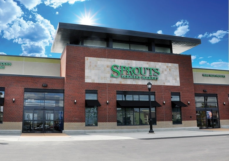 Sprouts Grocery Store Exterior
