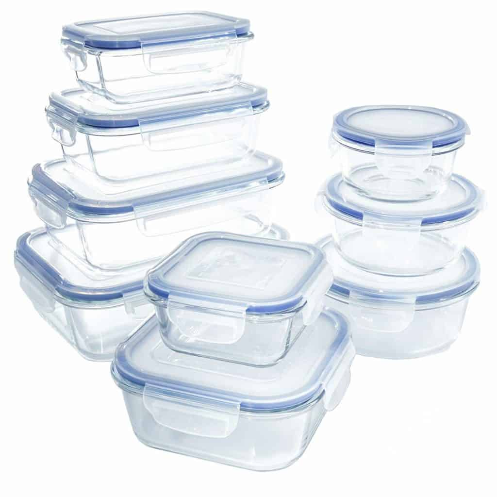 Tupperware for Freezer Meal Prep