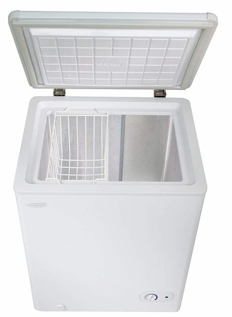 Chest freezer for freezer meal prep
