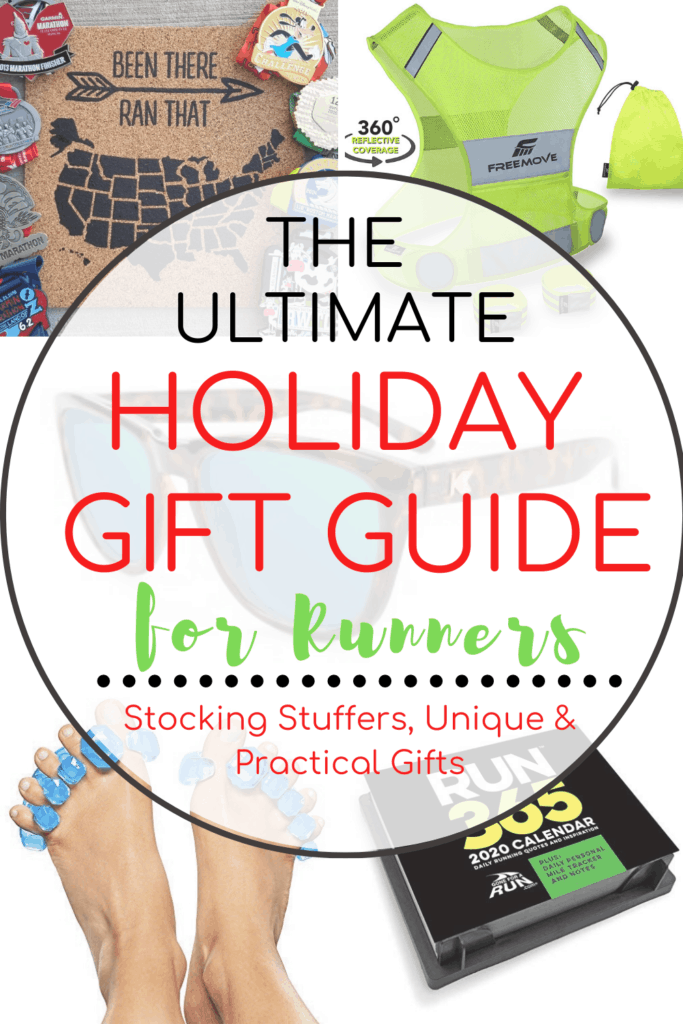 Christmas Gift Exchanges Ideas for Runners with text overlay | Bucket List Tummy