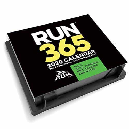 Run 365 running calendar of motivational tips for 2020