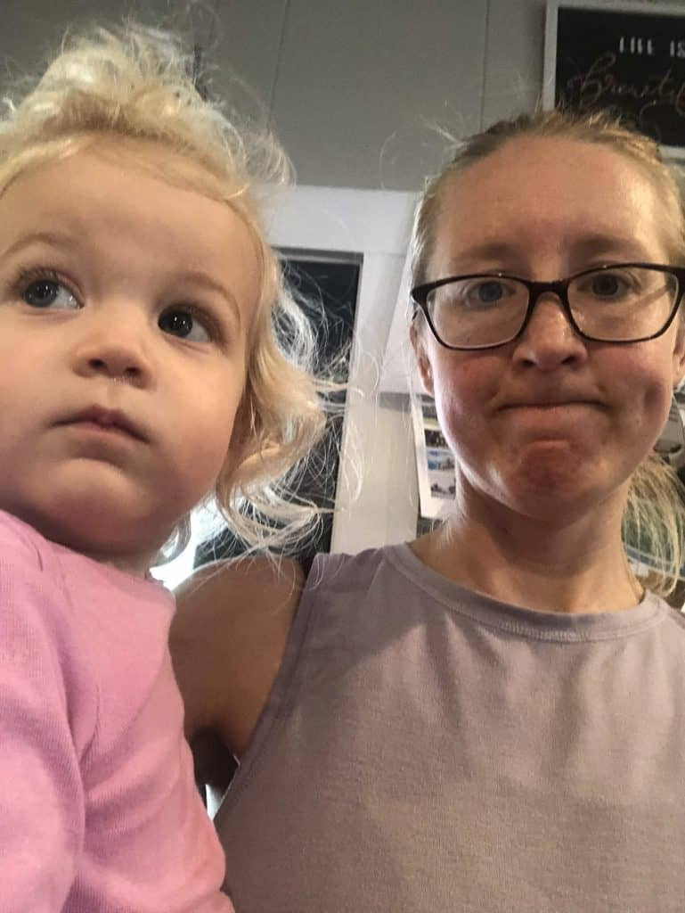 picture of mom and daughter