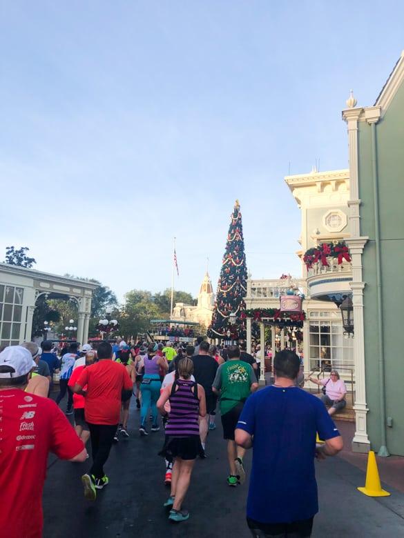 Magic Kingdom in the Disney Marathon