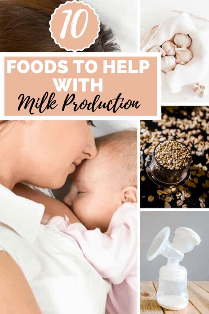 Lactogenic Foods to help with milk production