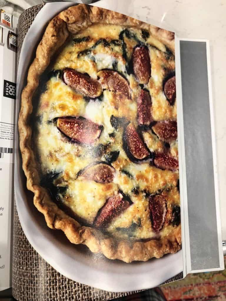 fig ad pig quiche from Run Fast Eat Slow