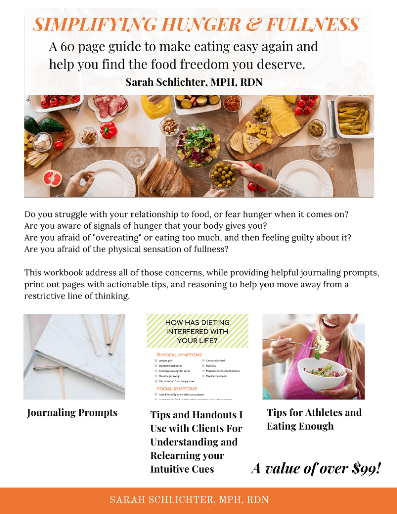 learn how to honor your hunger Ebook