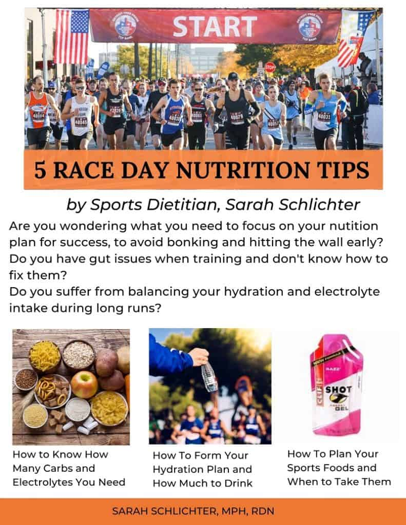 Race Day Nutrition Tips