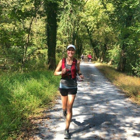 Long training run on a trail | Bucket List Tummy