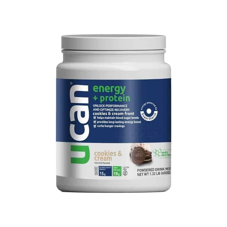UCAN superstarch protein powder
