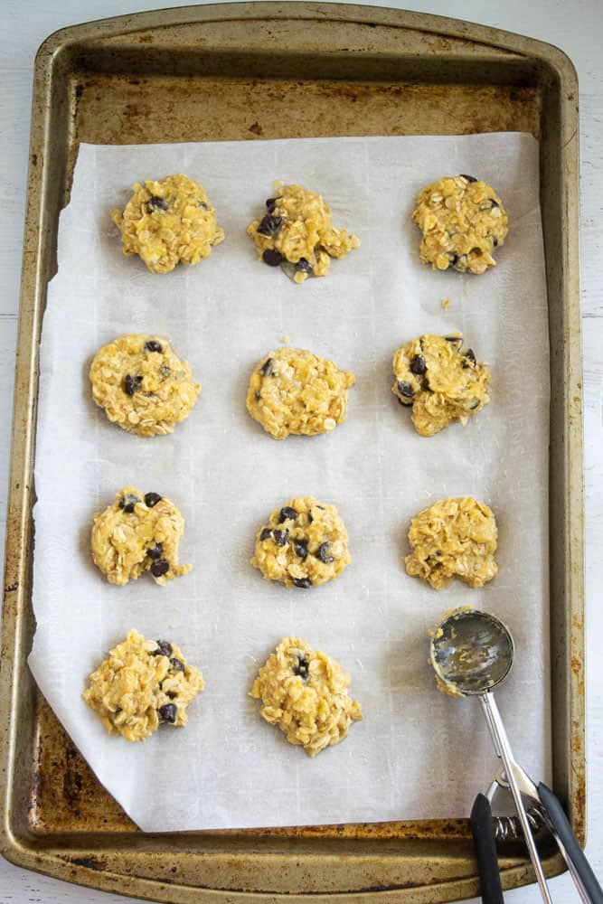 batter for paleo coconut flour cookies in bowl