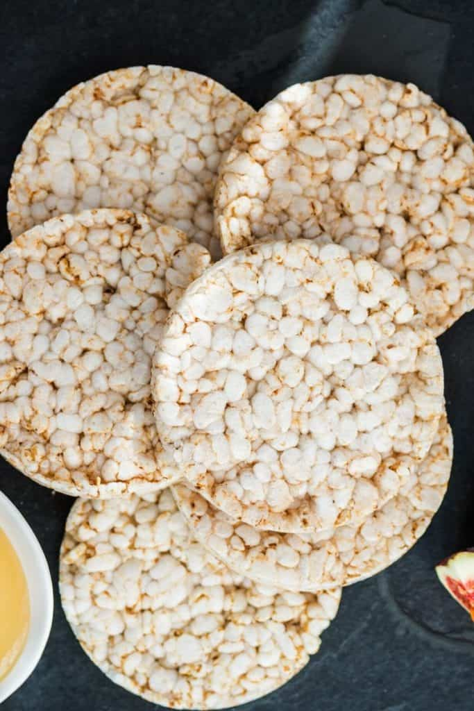 rice cakes close up