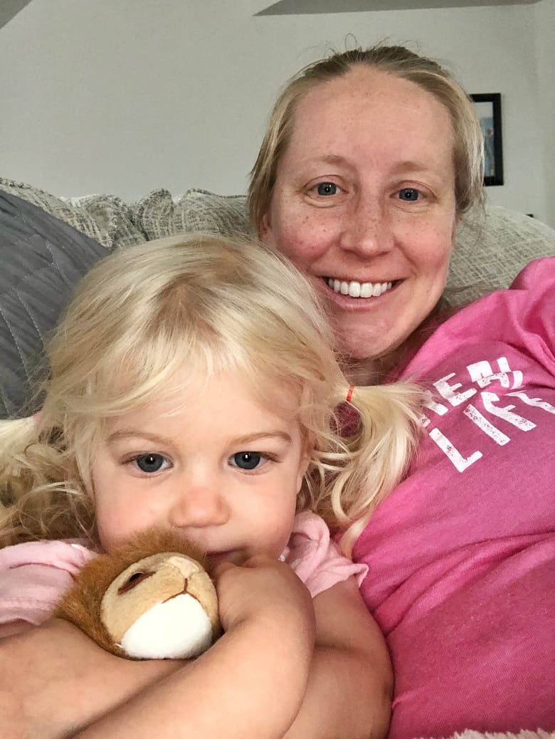 hanging out with a busy toddler