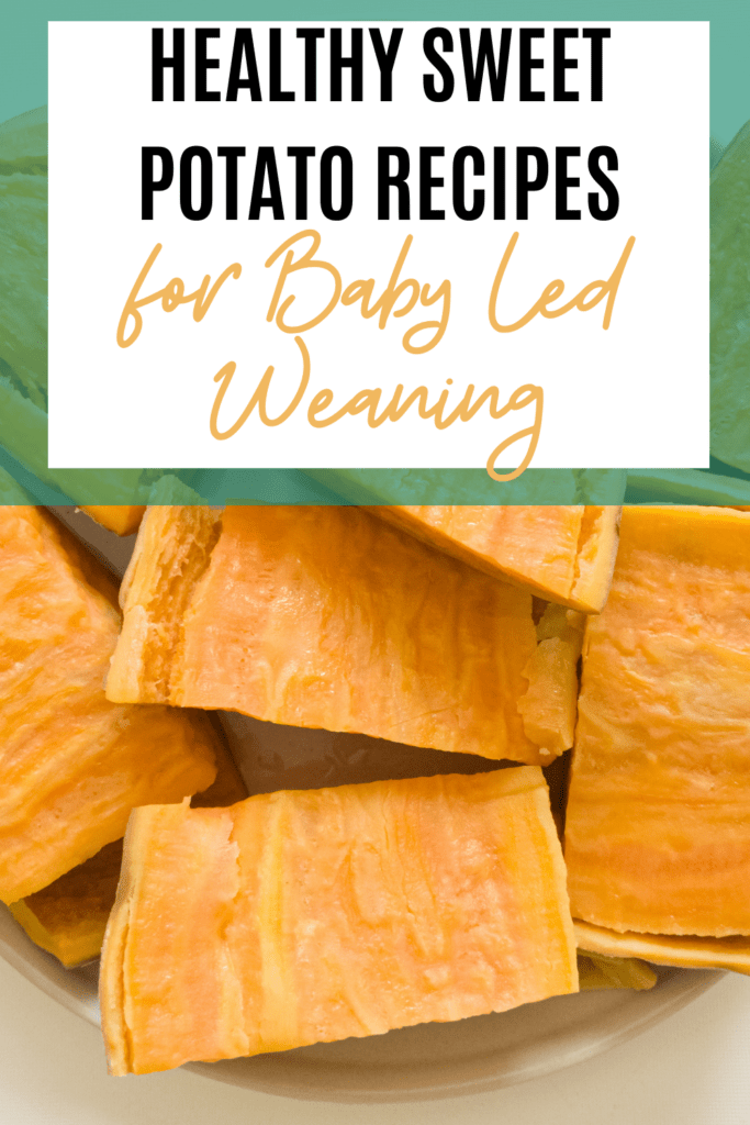 sweet potatoes for baby led weaning