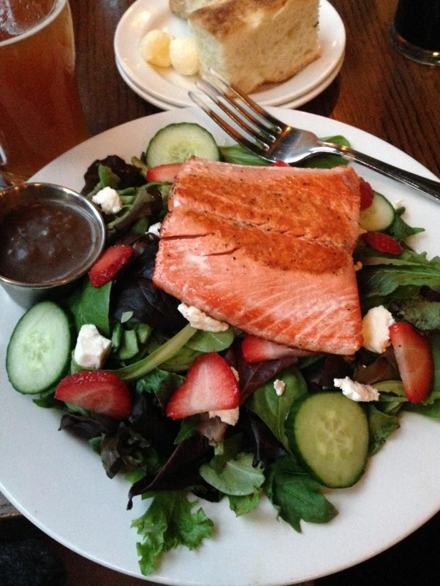McMenamins salmon salad
