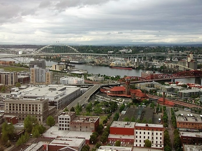 Portland City Grill view