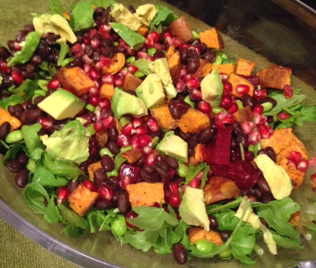 fall colorful salad